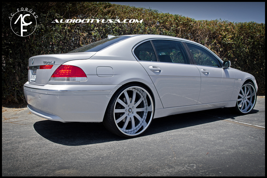 Used 745 Bmw For Sale BMW 7-Series Gets 24-inch AC Forged Wheels - autoevolution
