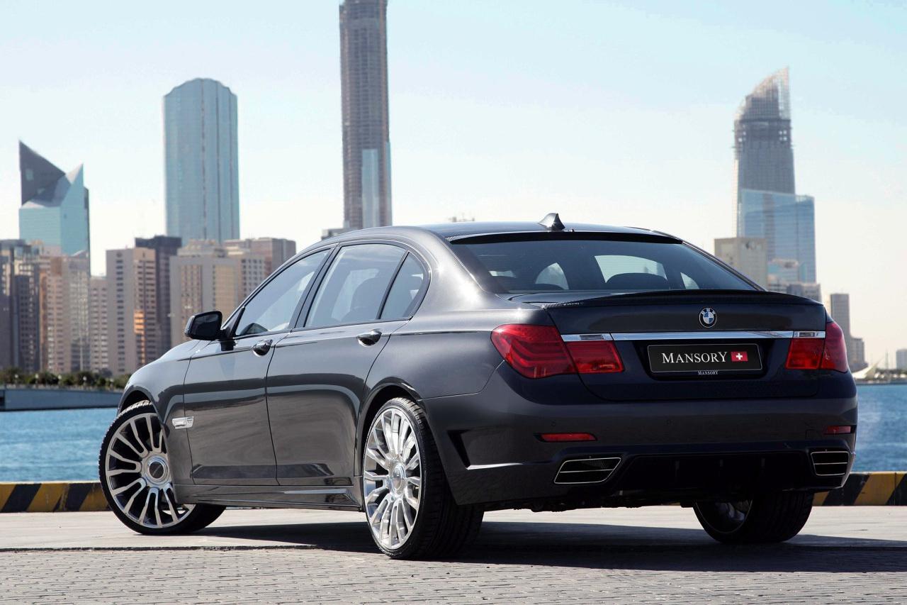 BMW 7 Series Receives Mansory Treatment - autoevolution