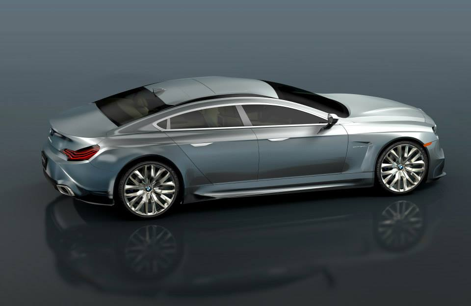 BMW 7 Series Sportback Concept Rendered - autoevolution