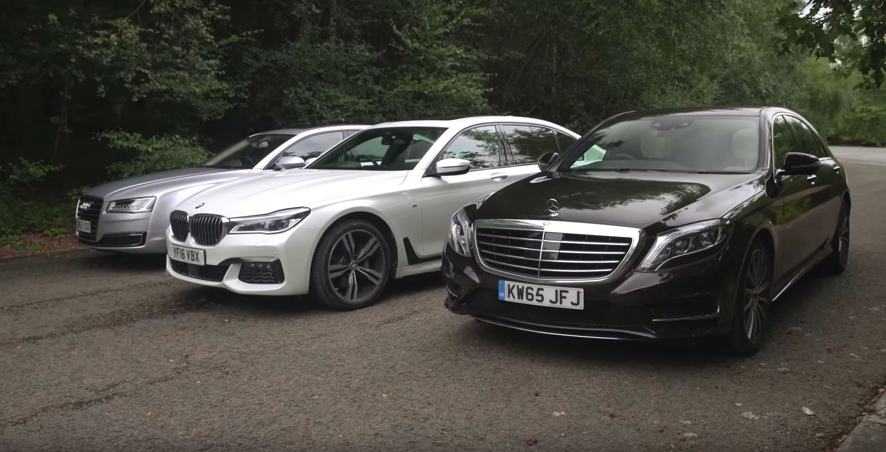 Bmw 7 Series Vs Mercedes S Class Vs Audi A8 2017 Luxury