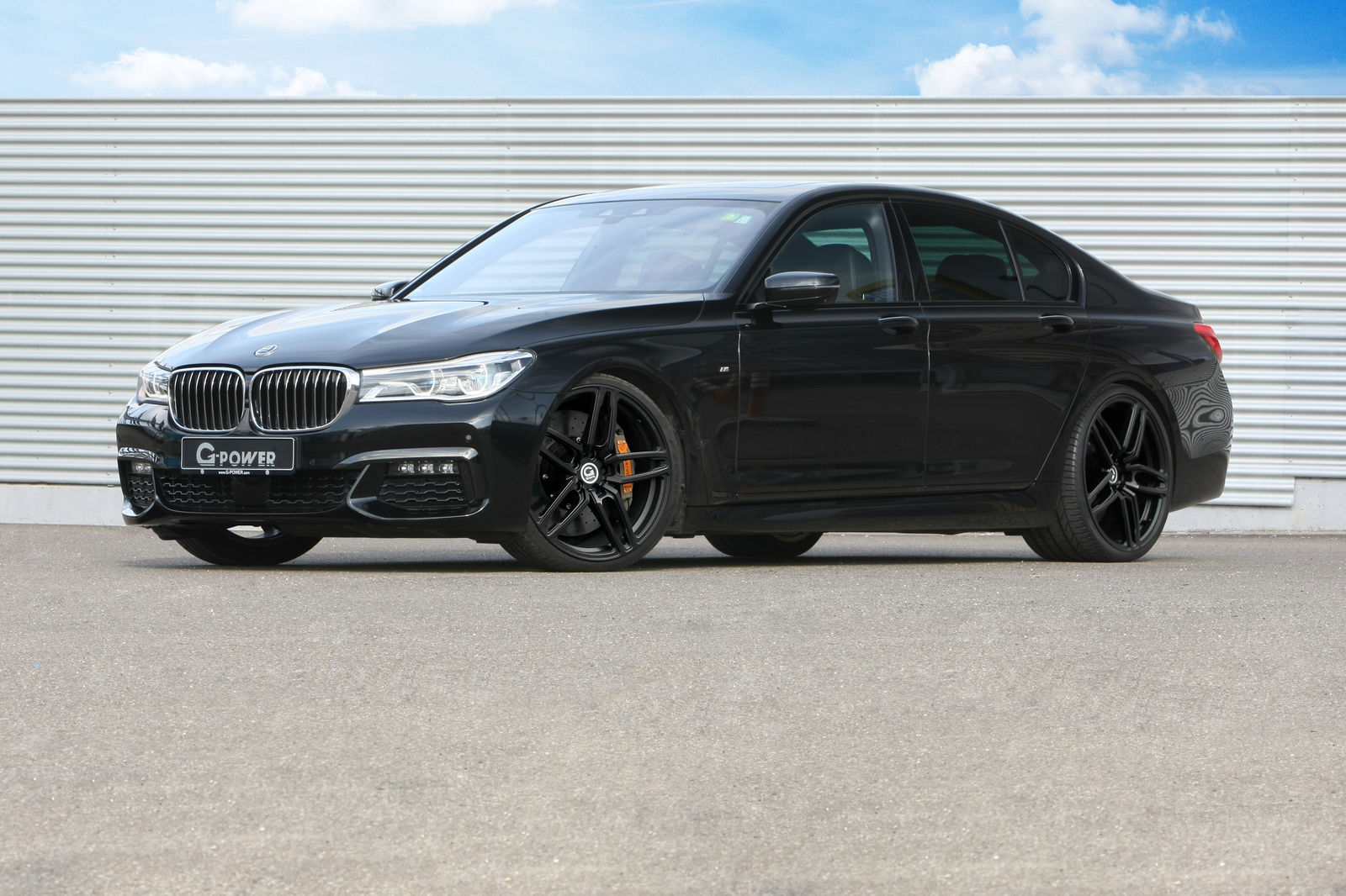 Bmw 750d Quad Turbo Engine Tuned To 460 Hp By G