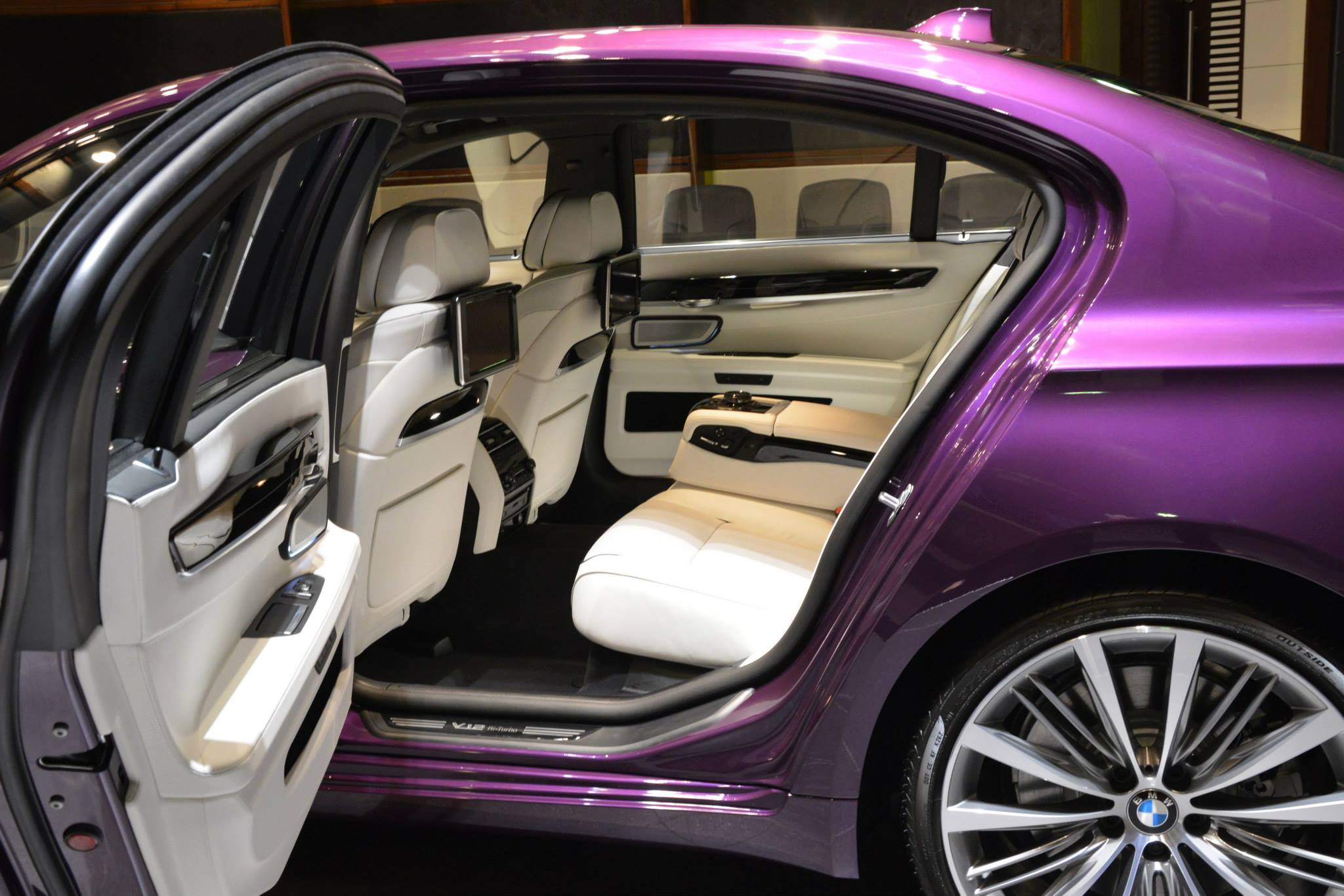 Bmw 760li Wearing Purple And A V12 Costs An Arm And A Leg