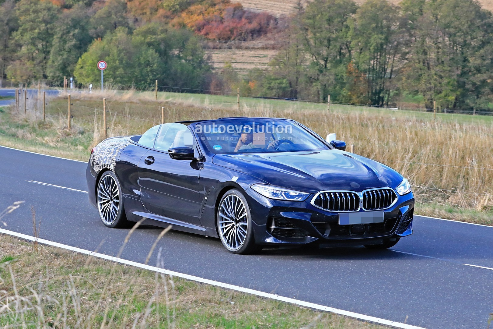 Bmw 8 Series Cabrio Spied As 840i M Sport Debut Is Imminent Autoevolution