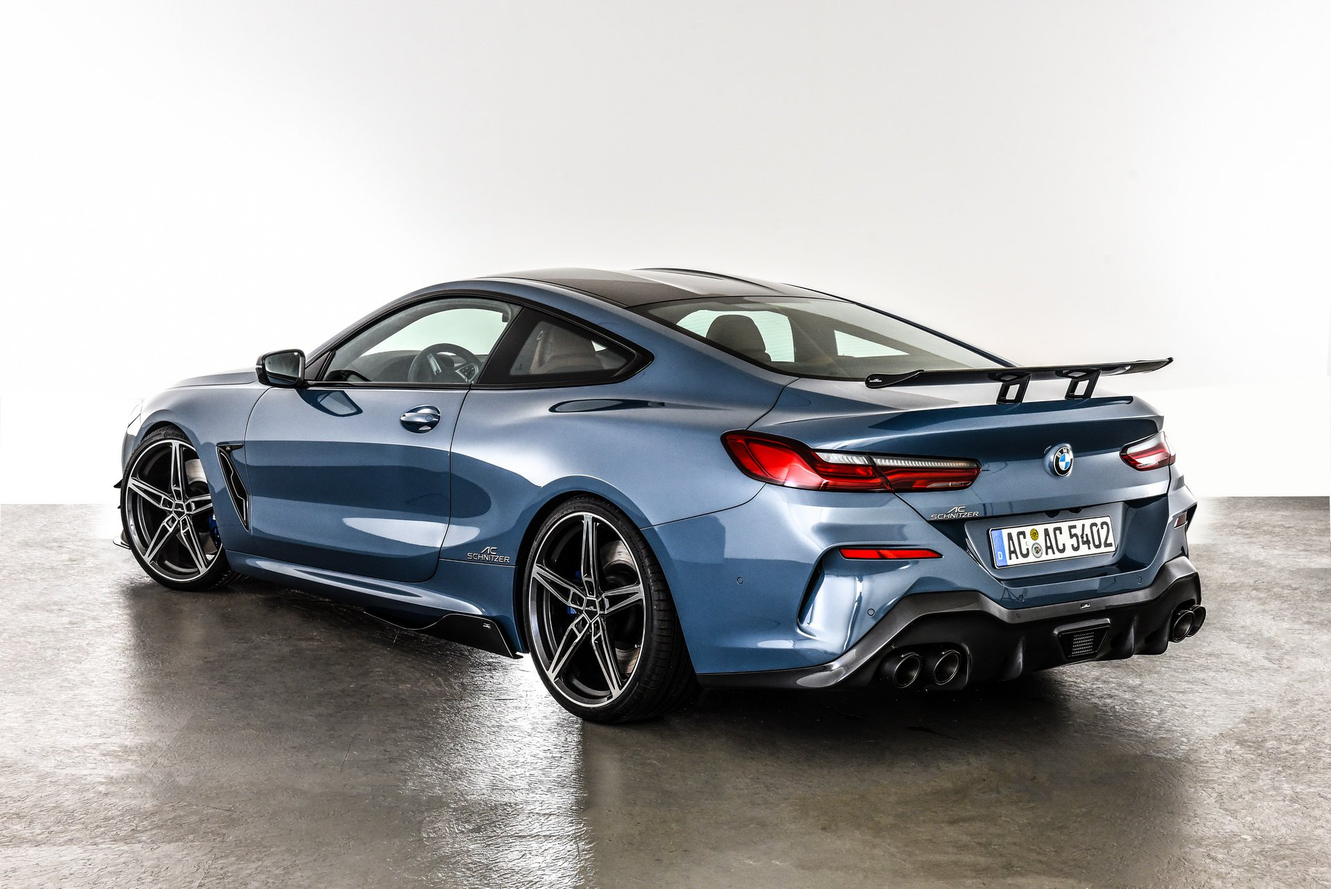 BMW 8 Series Coupe AC Schnitzer Tuning Project Is ...