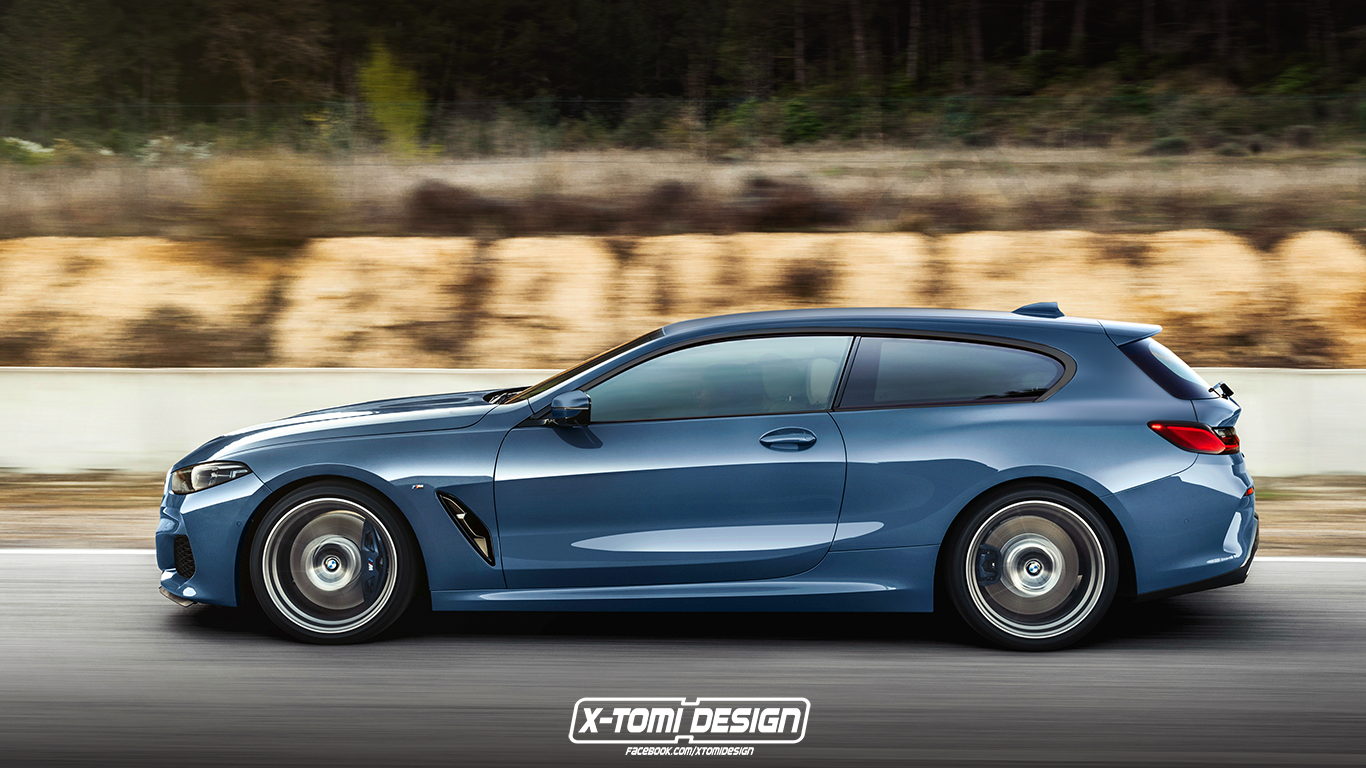 Bmw M8 Le Mans >> BMW 8 Series Rendered as Cabrio, Pickup, Gran Coupe and GTS - autoevolution