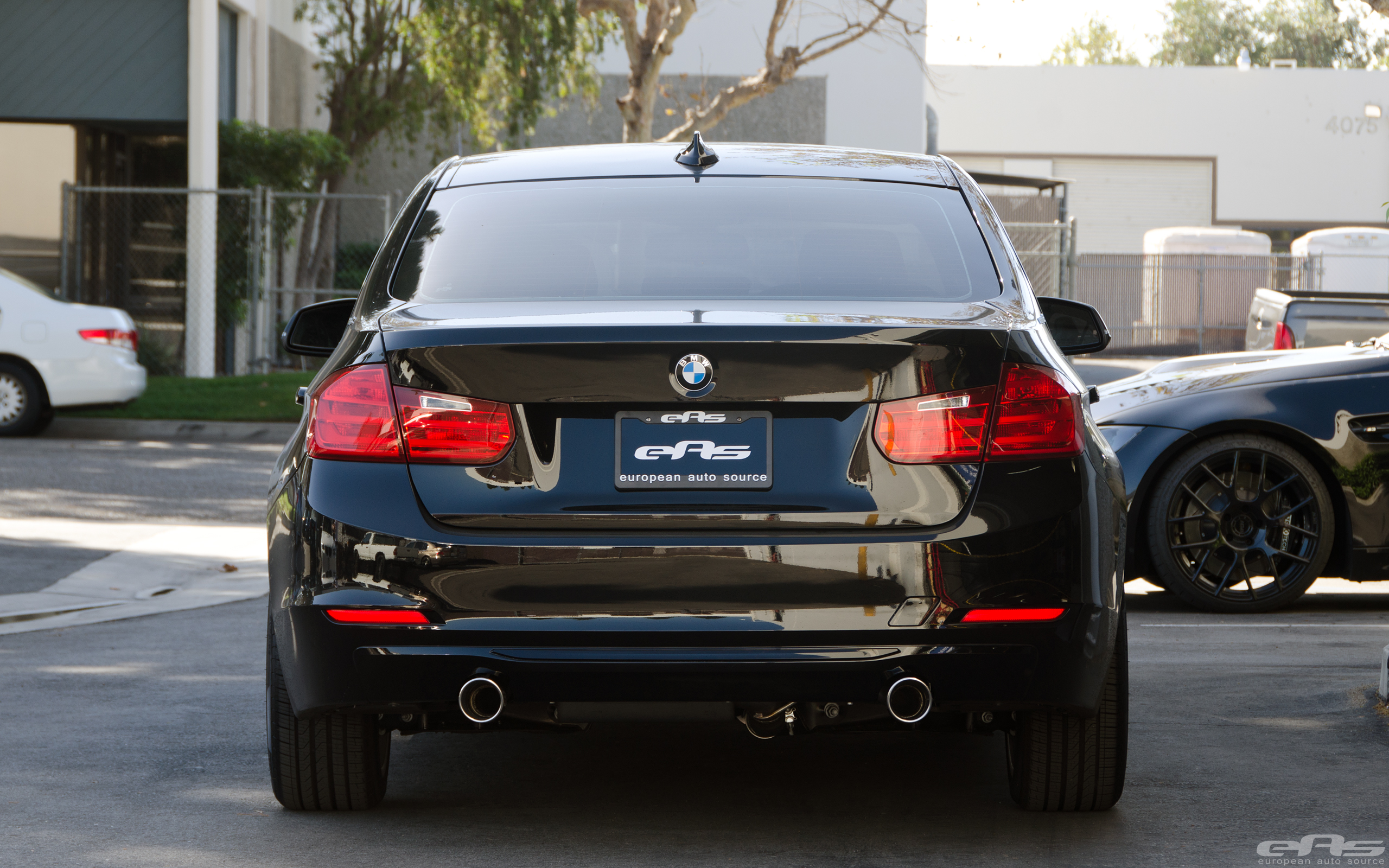 Bmw activehybrid 3 with borla atak exhaust