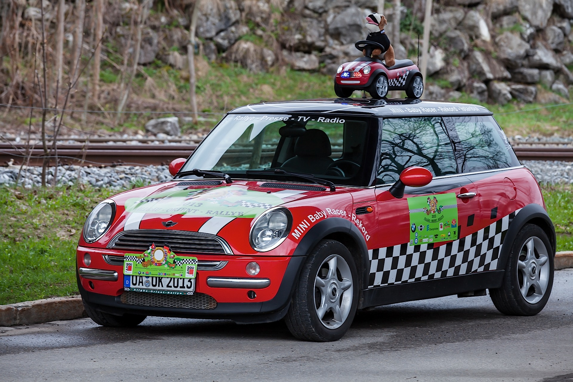 Bmw And Mini Enter The Allgau Orient Rally Autoevolution