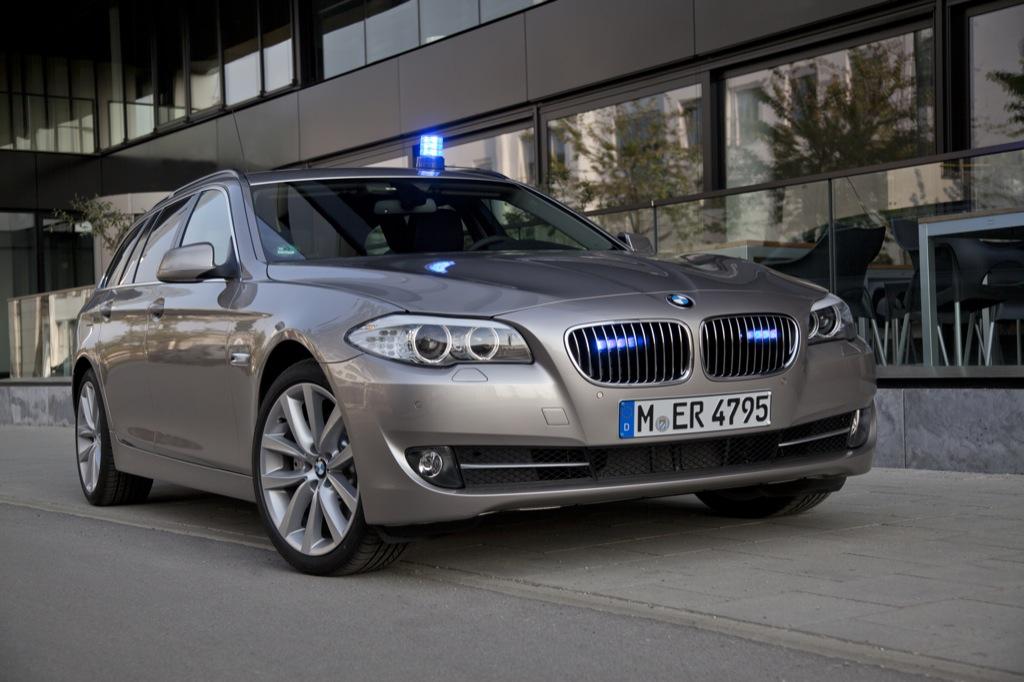 Bmw Announces Emergency Vehicle Line Up For Rettmobil 2011 Autoevolution