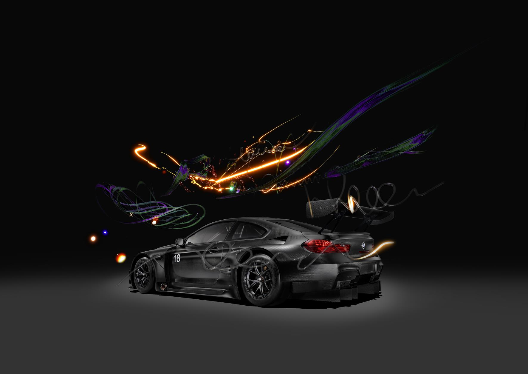 Miata with poppy art car livery isn t just for show autoevolution -  Bmw M6 Gt3 Digital Art Car By Cao Fei