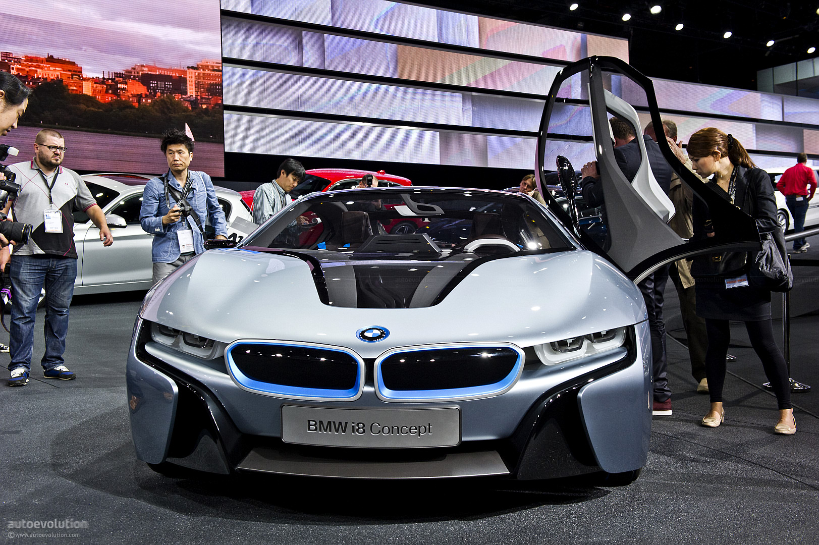 BMW Bringing i3 and i8 Concepts to Tokyo - autoevolution