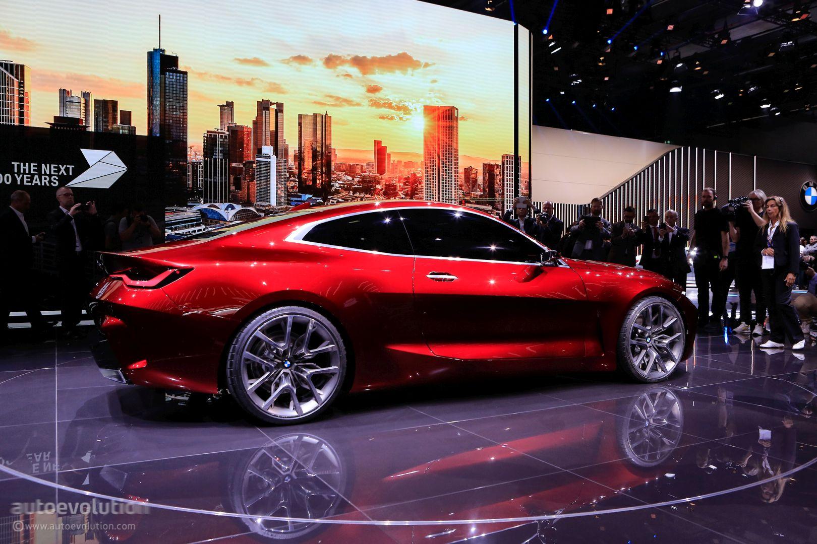 BMW 4 Concept in Frankfurt