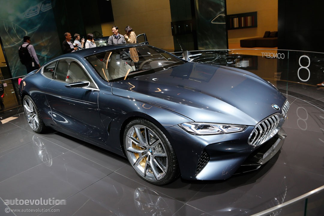 Bmw Concept 8 Series Is Out For Mercedes Benz S Class