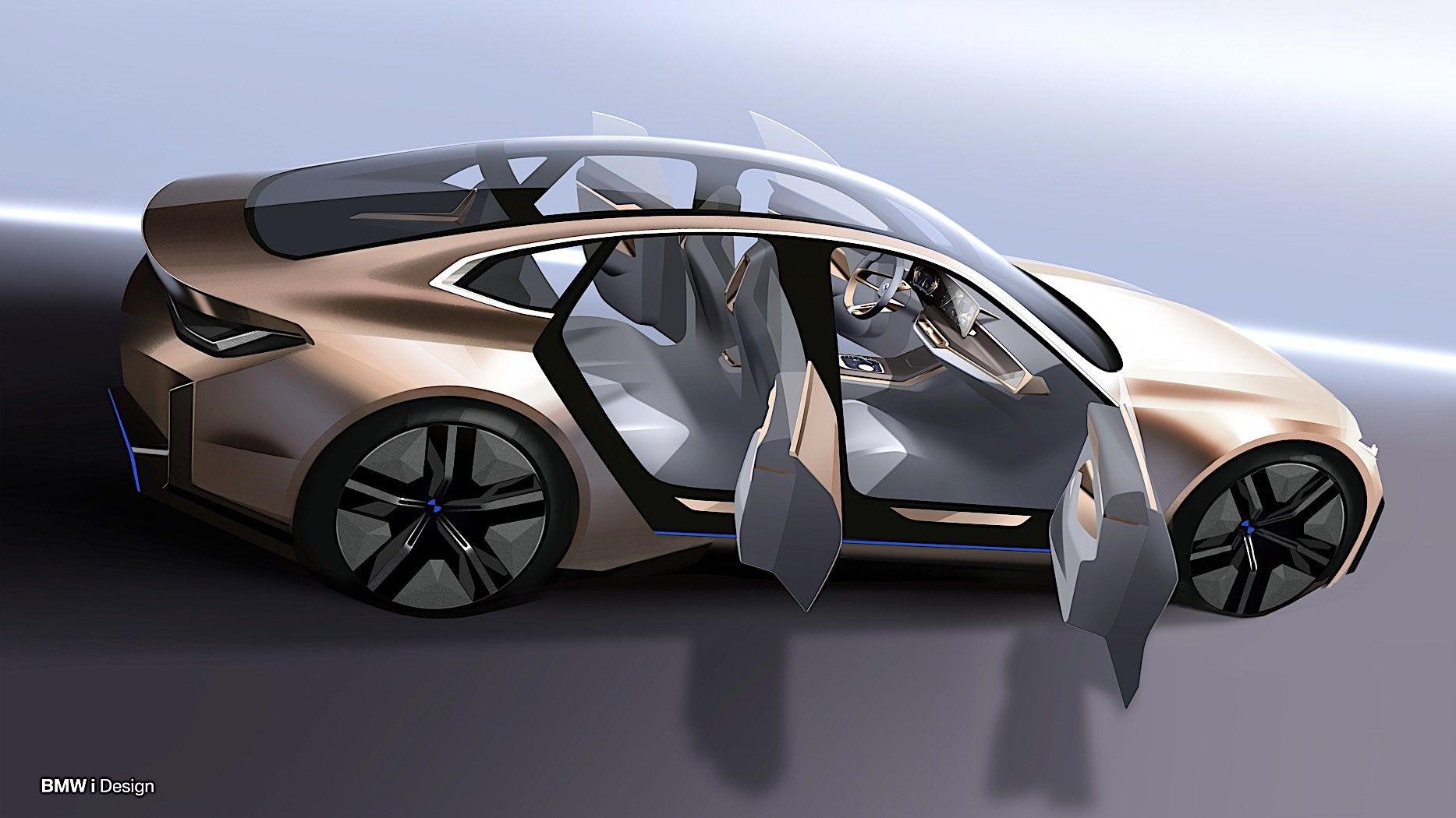 bmw concept i4 is how the 4 series gran coupe will die and