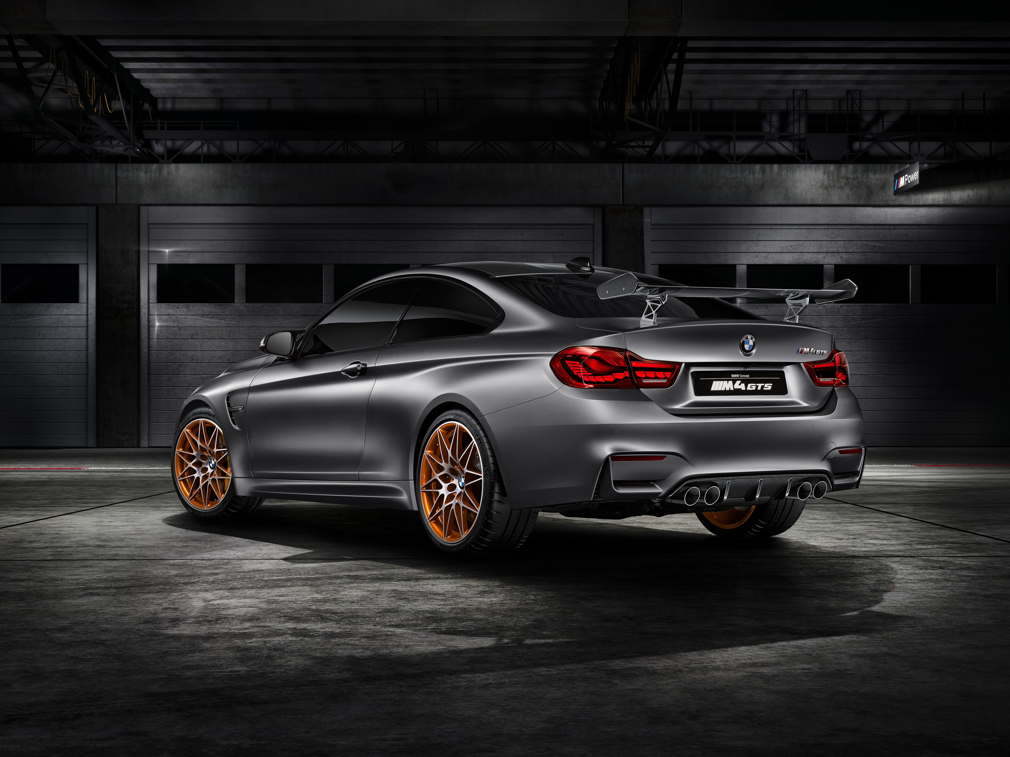 BMW Concept M4 GTS Makes World Debut at Pebble Beach with OLED ...