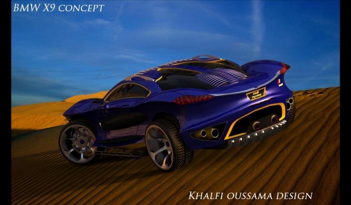 Bmw Concept X9 Imagined Autoevolution