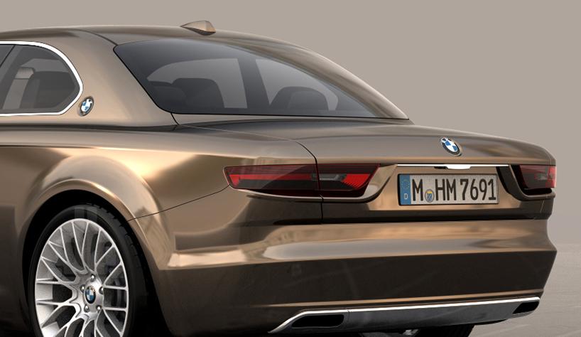 Bmw Cs Vintage Concept Pays Tribute To Classic E9 Models