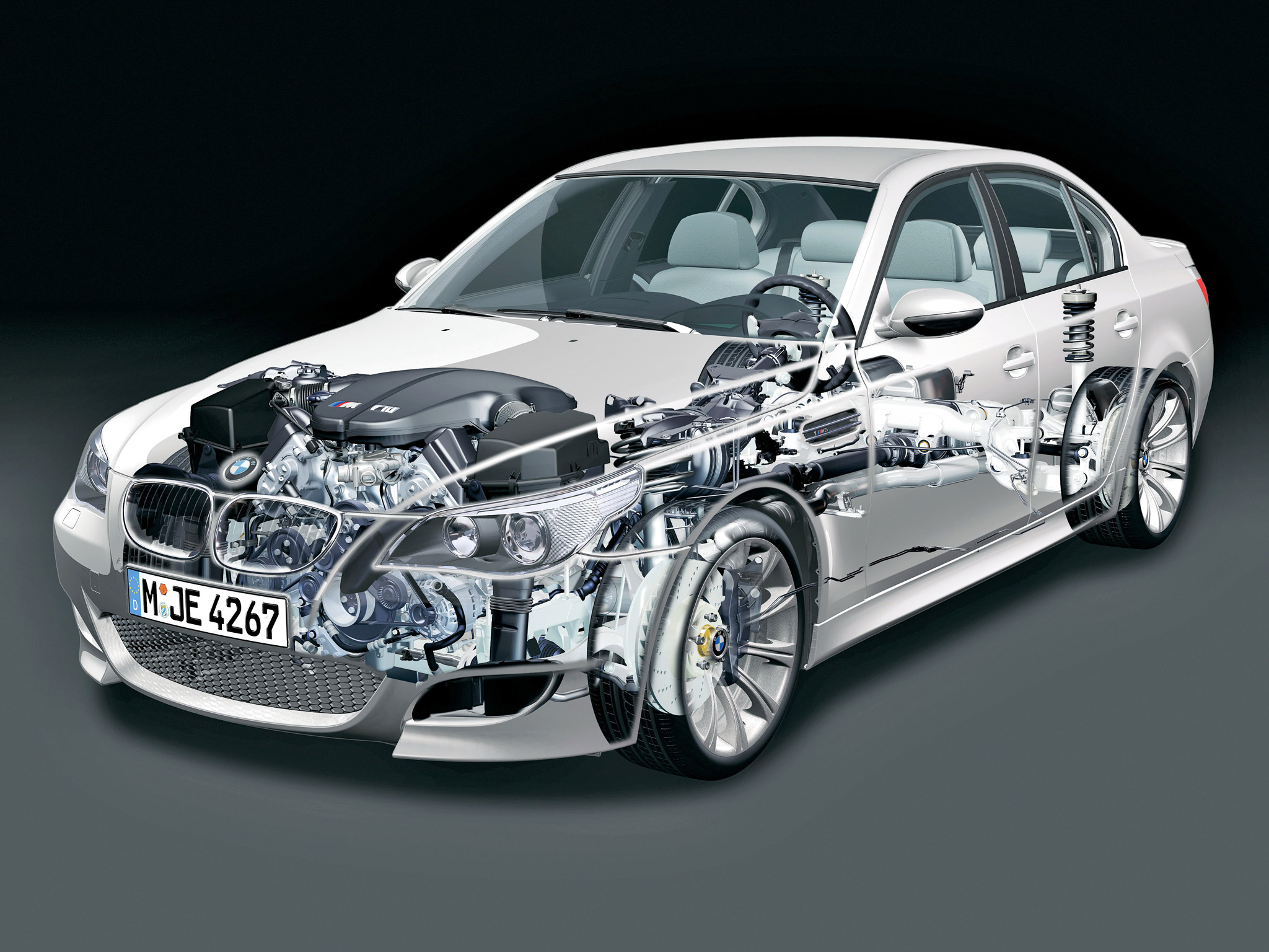 Bmw Cutaway Illustrations Are Everything You Ever Wanted Photo Gallery on Engine Cutaway Diagram