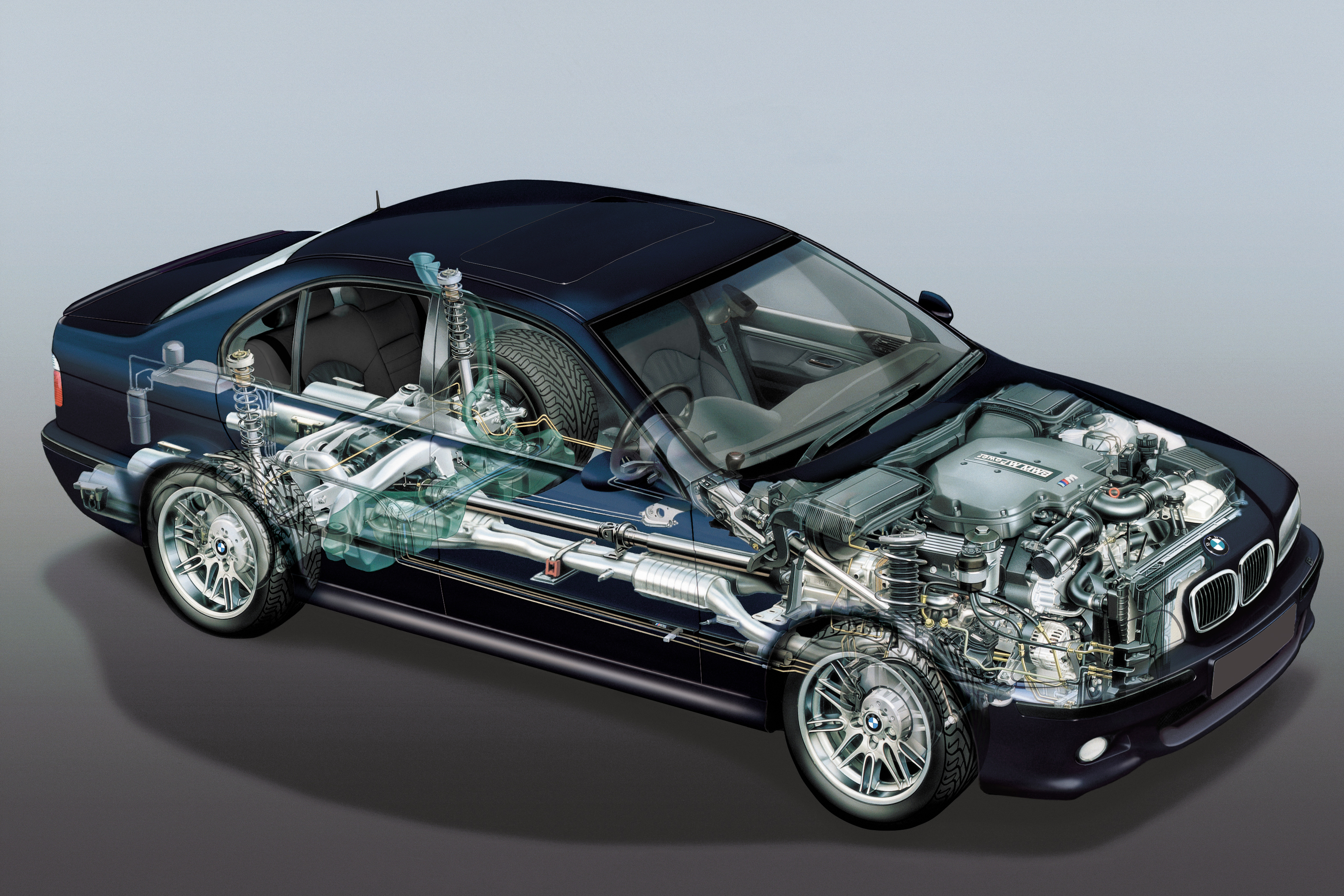 BMW Cutaway Illustrations Are Everything You Ever Wanted ...