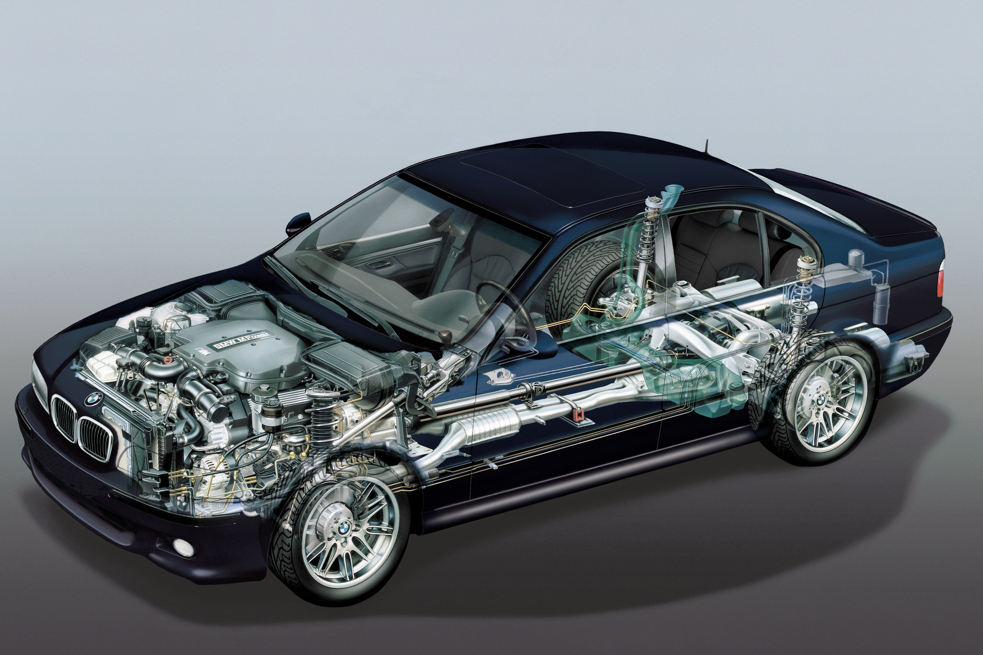 Bmw Cutaway Illustrations Are Everything You Ever Wanted Autoevolution
