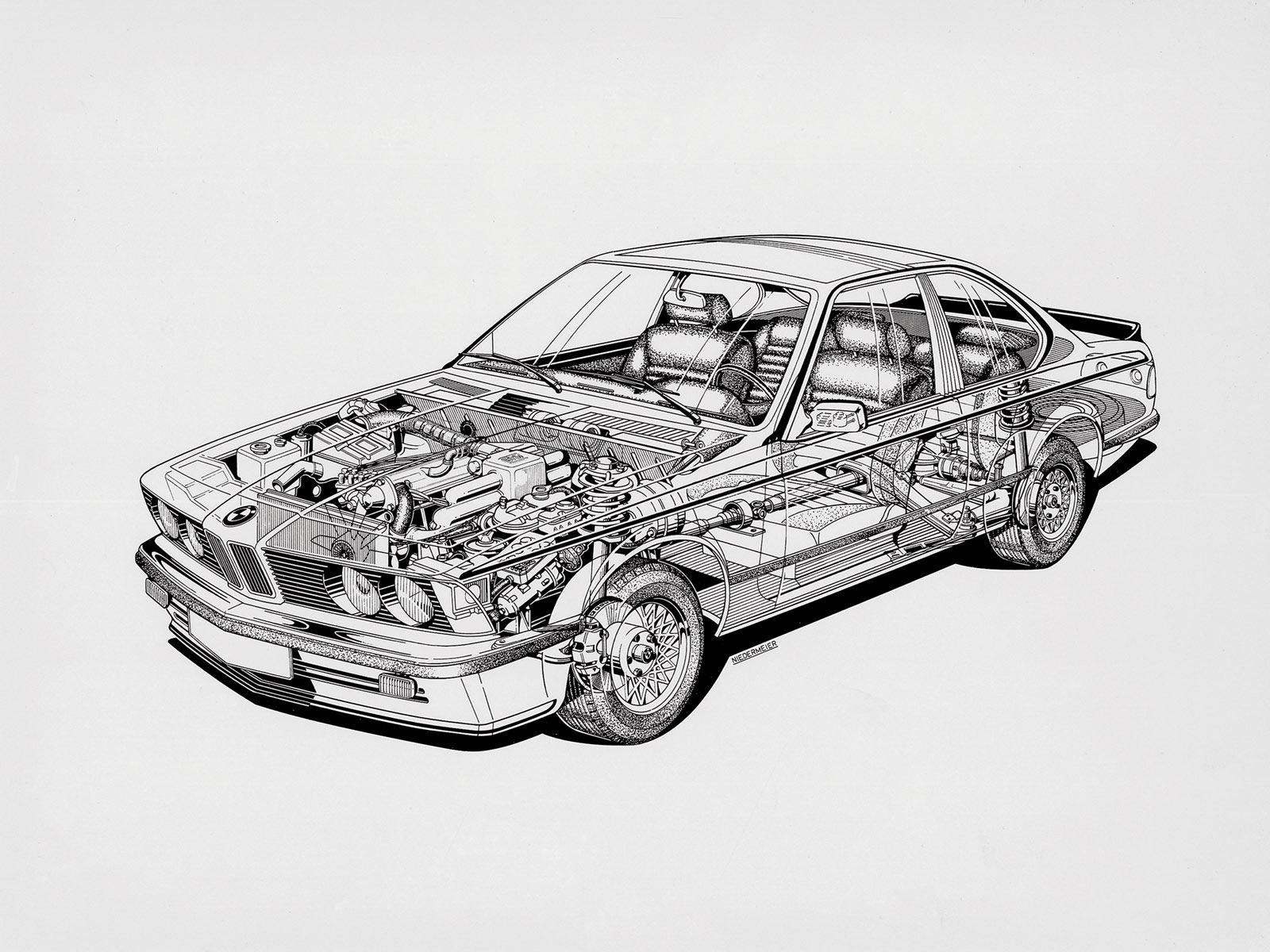 BMW M235I Xdrive >> BMW Cutaway Illustrations Are Everything You Ever Wanted ...