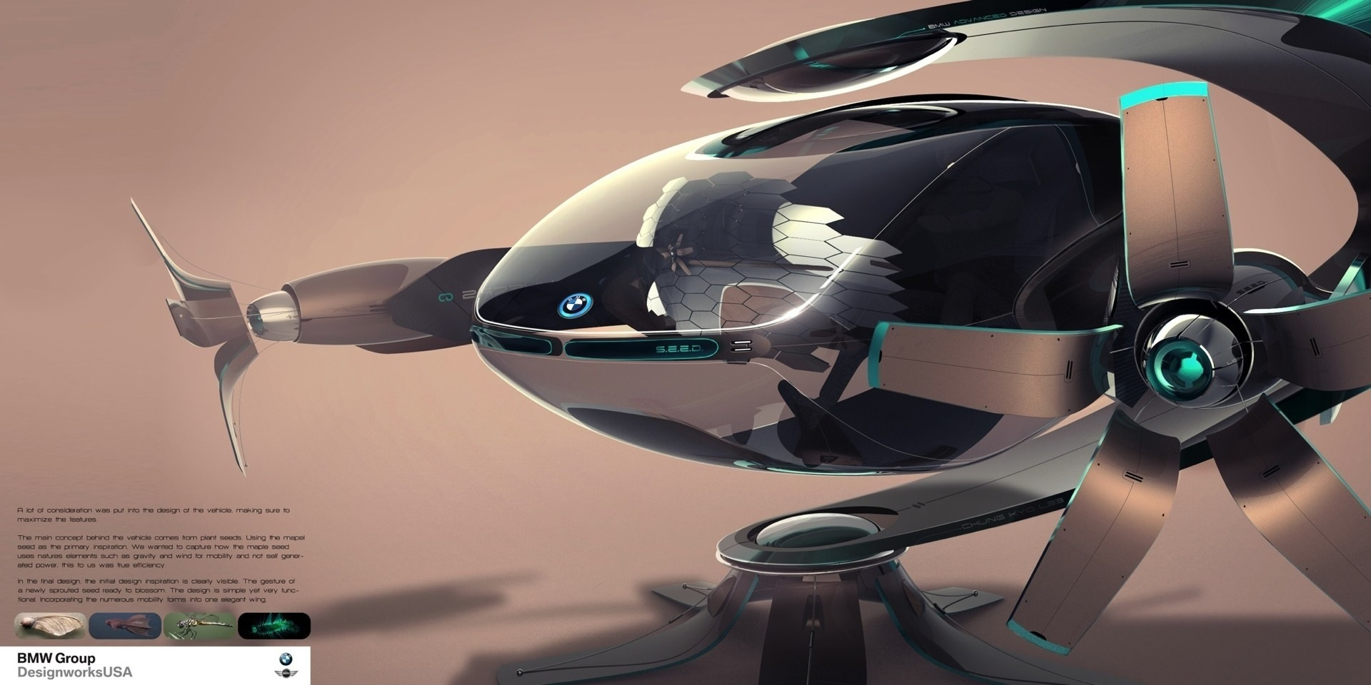Bmw Designworks Usa Creates Sustainable Solutions For