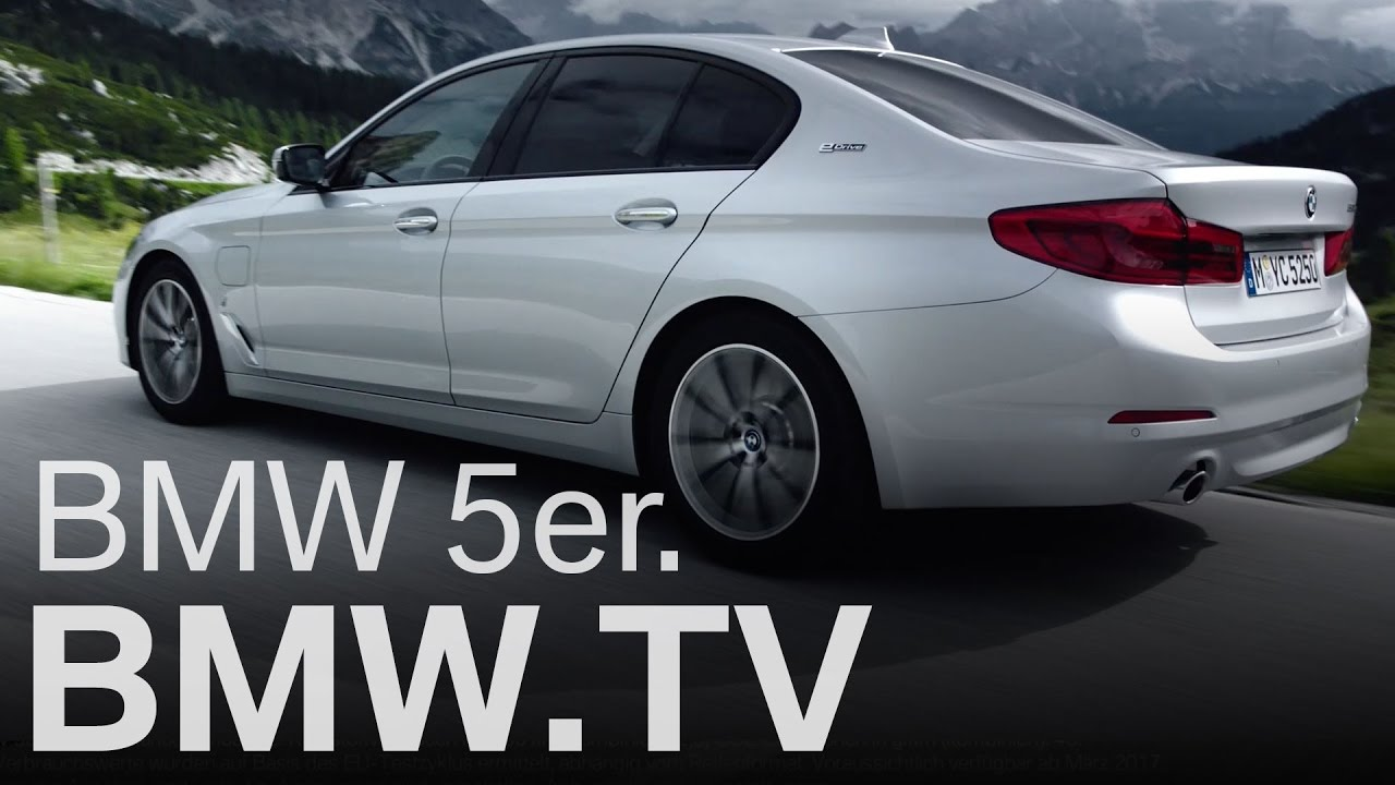 Bmw Details 530e Plug In Hybrid Official Videos