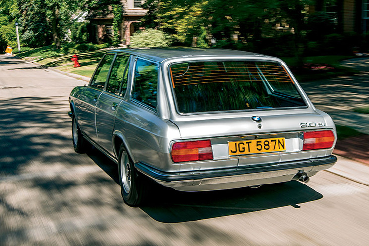 bmw e3 station wagon: a blend of british and german engineering