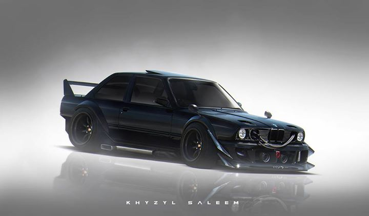 Bmw E30 M3 Gets Jdm Treatment In Hardcore Rendering