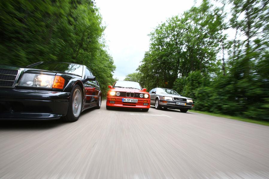 Bmw E30 M3 Vs Audi V8 Vs Mb 190 E The Dtm Heroes Autoevolution