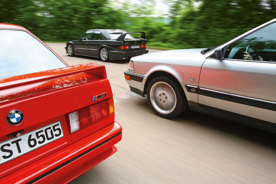 Bmw E30 M3 Vs Audi V8 Vs Mb 190 E The Dtm Heroes