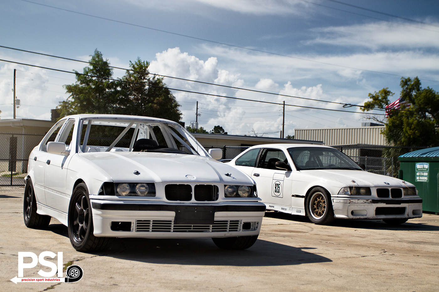 Bmw E36 3 Series Chumpcar Built By Psi Autoevolution