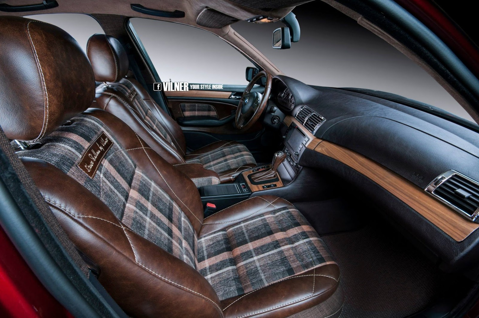 bmw e46 3 series gets hipster interior from vilner autoevolution. Black Bedroom Furniture Sets. Home Design Ideas
