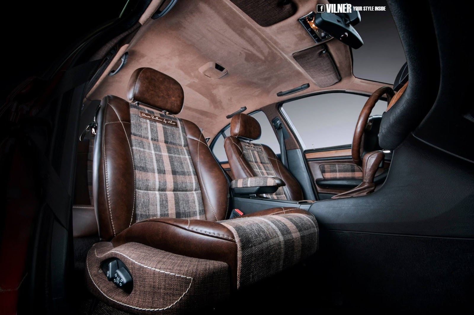 Bmw E46 3 Series Gets Hipster Interior From Vilner Autoevolution