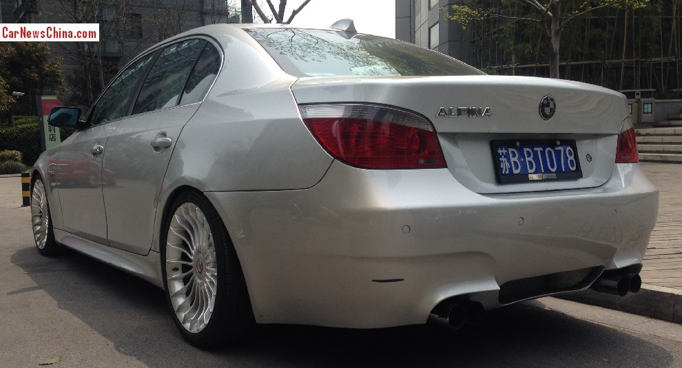 Bmw E60 5 Series Spotted Wearing Alpina Wheels In China Autoevolution