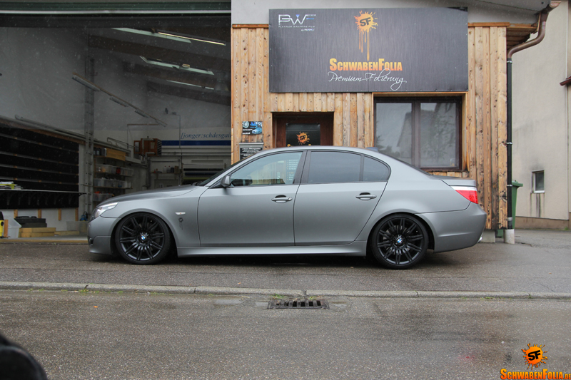 Bmw E60 5 Series Wears Frozen Tungsten Autoevolution