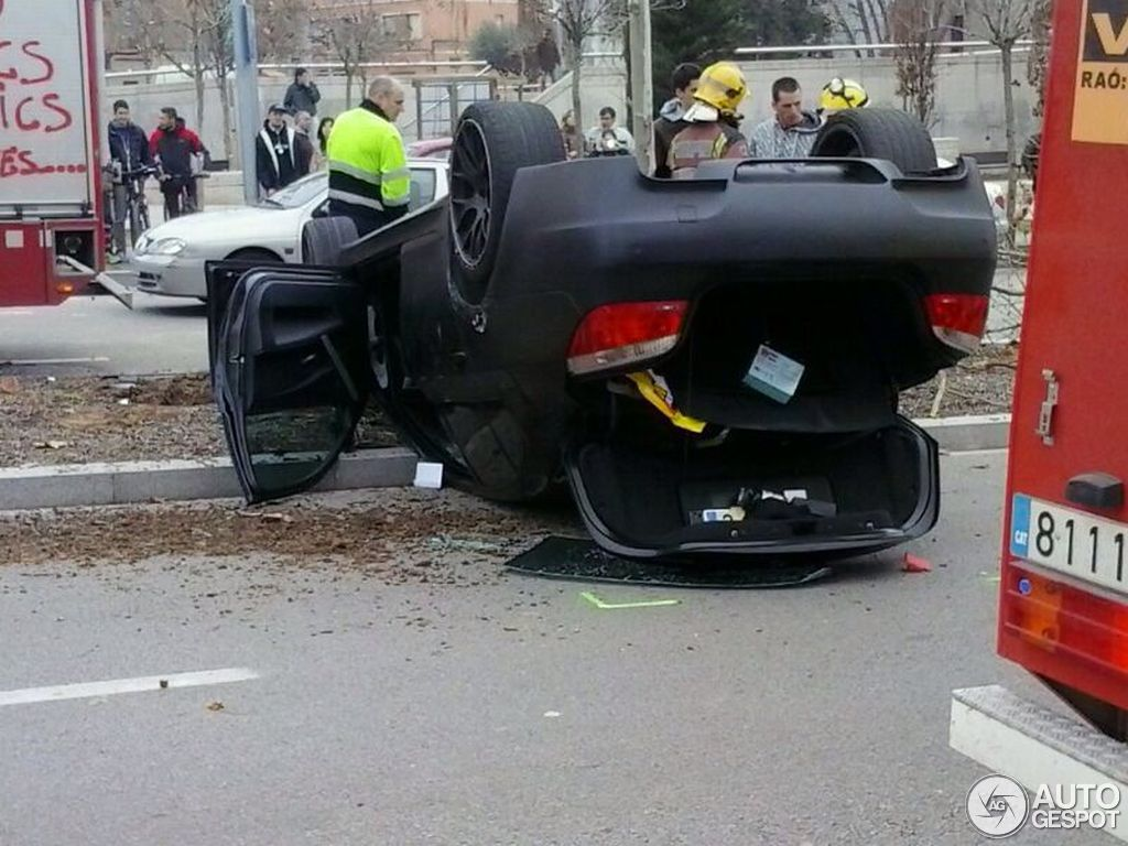 Bmw E60 M5 Flips Over In Spain Autoevolution