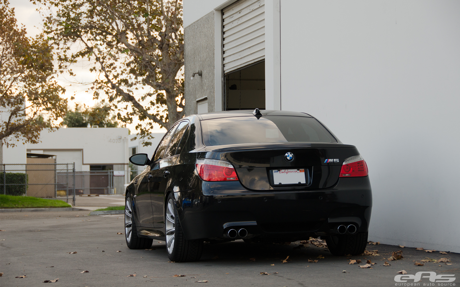 BMW E60 M5 Gets New Stance at EAS - autoevolution