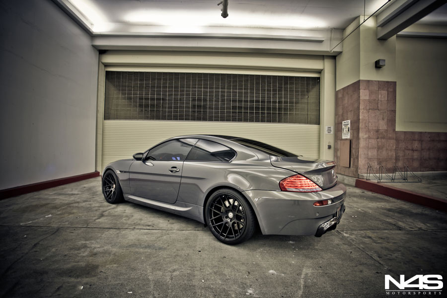 Concours D Elegance >> BMW E63 M6 Rides on BC Forged Wheels - autoevolution