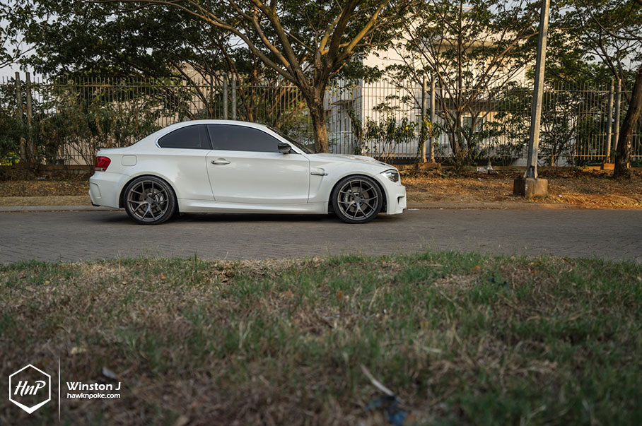 Bmw E82 135i Looks Mighty On Pur Wheels Autoevolution