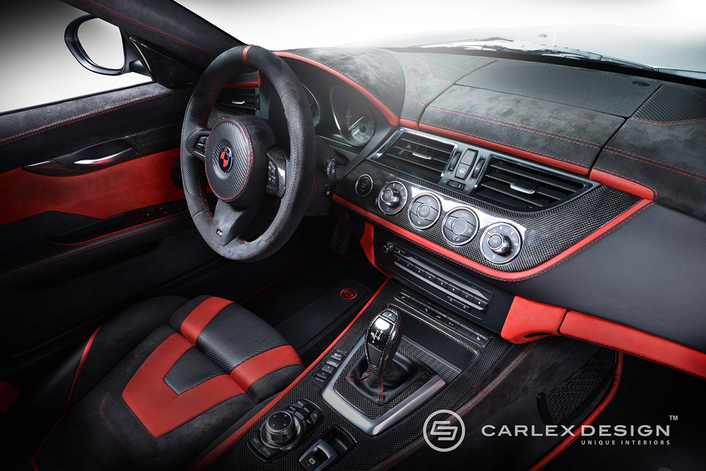 bmw e89 z4 gets carbon and alcantara treatment at carlex. Black Bedroom Furniture Sets. Home Design Ideas