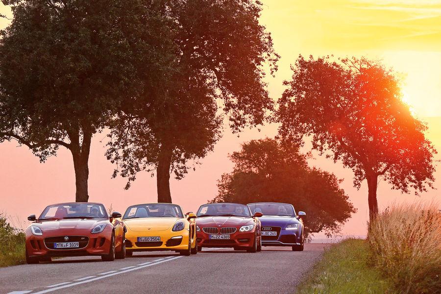 Bmw E89 Z4 Goes Against Porsche Audi And Jaguar In