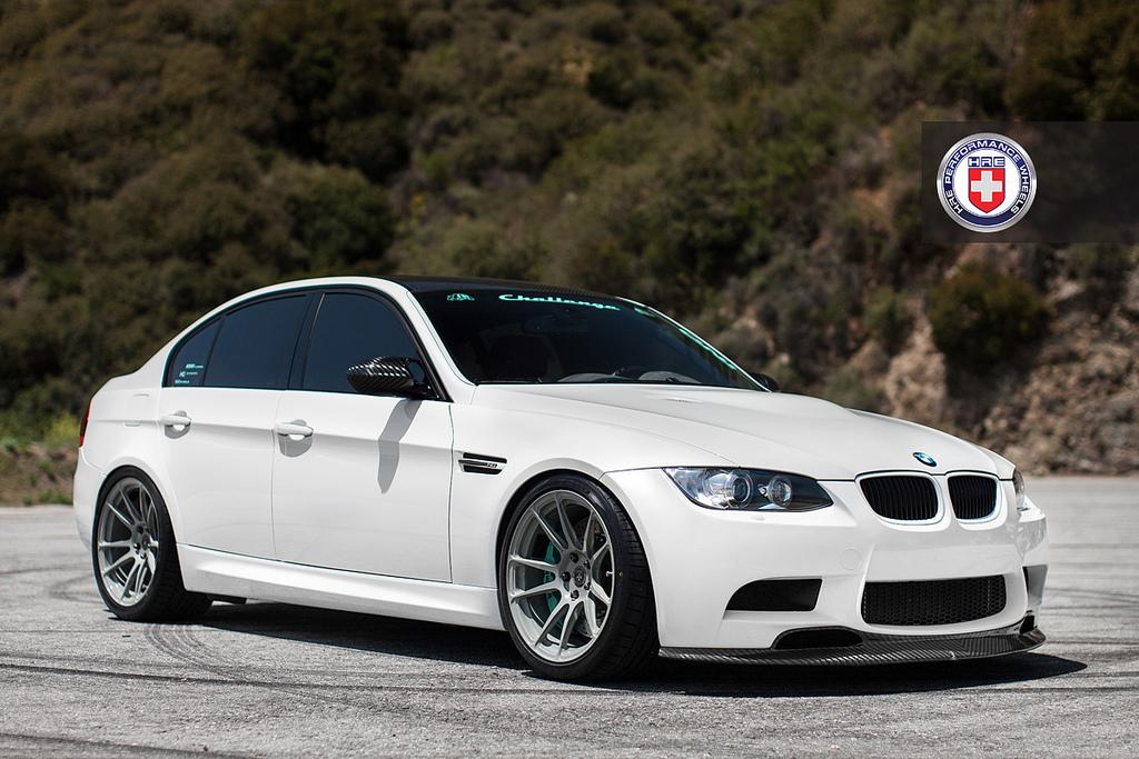 BMW I8 Wheels >> BMW E90 M3 on Battleship Grey HRE Wheels - autoevolution