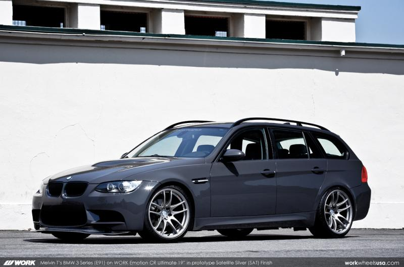 bmw e91 m3 conversion is a rare bird autoevolution. Black Bedroom Furniture Sets. Home Design Ideas