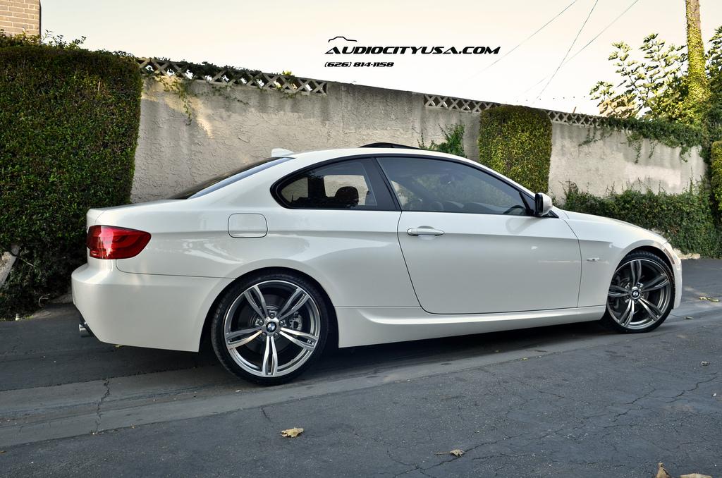 BMW E92 335i Rides on BMW F10 M5 Replica Wheels - autoevolution
