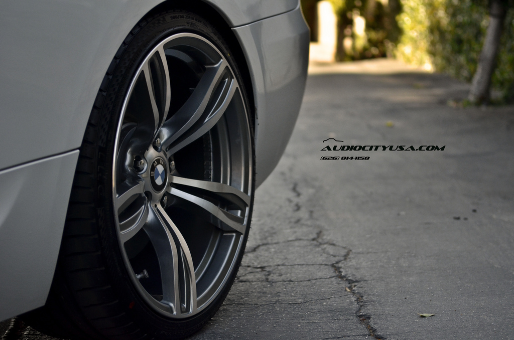 Bmw E92 335i Rides On Bmw F10 M5 Replica Wheels