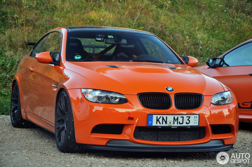 Bmw E92 M3 Gts Duo Spotted In Germany Autoevolution