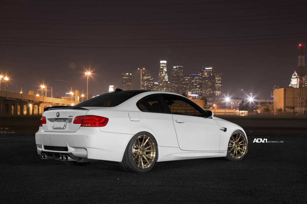 Bmw E92 M3 On Adv 1 Wheels Autoevolution