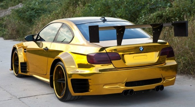 Bmw E92 M3 With Butterfly Doors Hails From China
