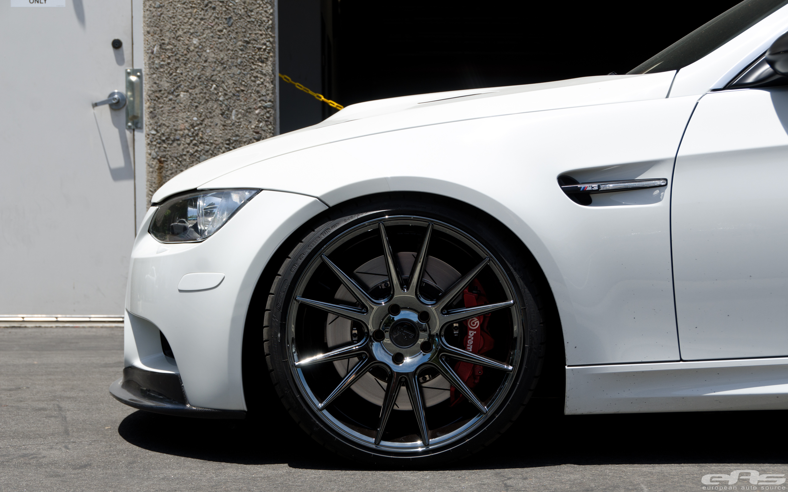 Bmw E93 M3 Convertible Gets Shiny Wheels At Eas Autoevolution