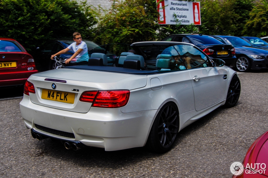 Bmw E93 M3 Spotted Wearing 1m Coupe Bumper Autoevolution